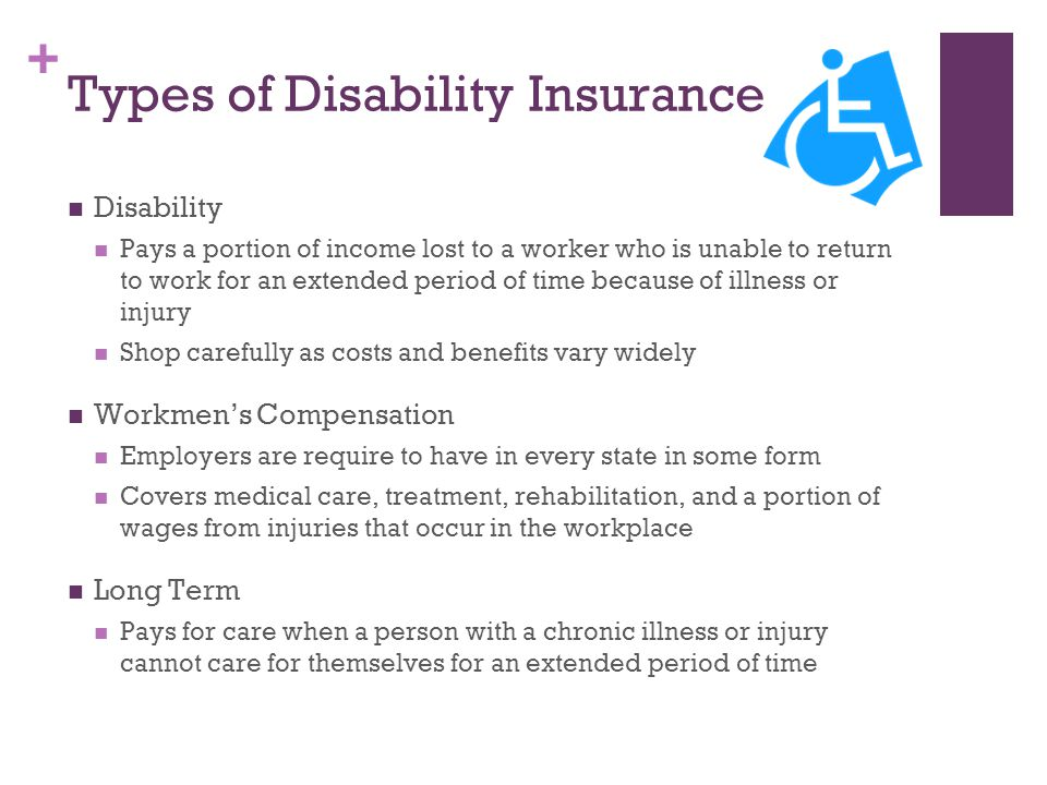 Types of Disability Insurance