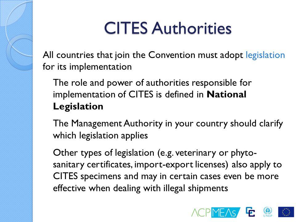 CITES Authorities