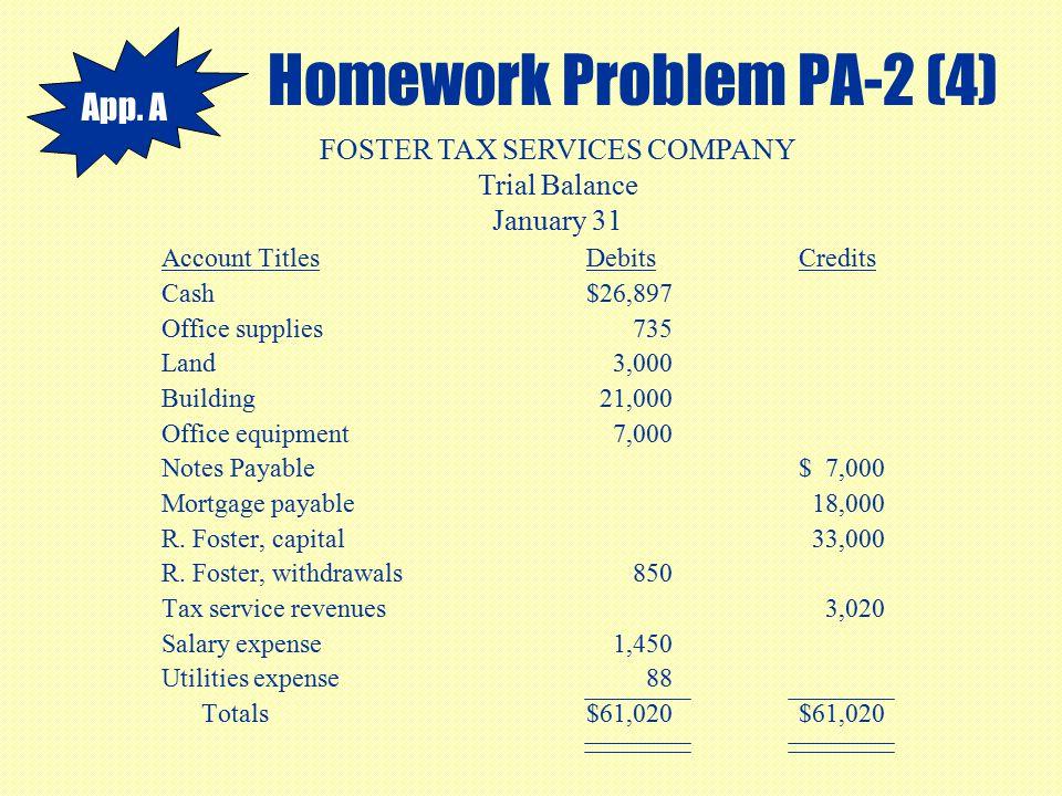 Homework Problem PA-2 (4)