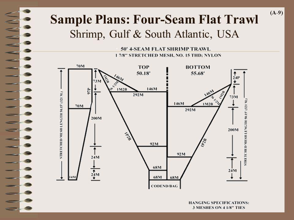 Sample Plans: Four-Seam Flat Trawl Shrimp, Gulf & South Atlantic, USA