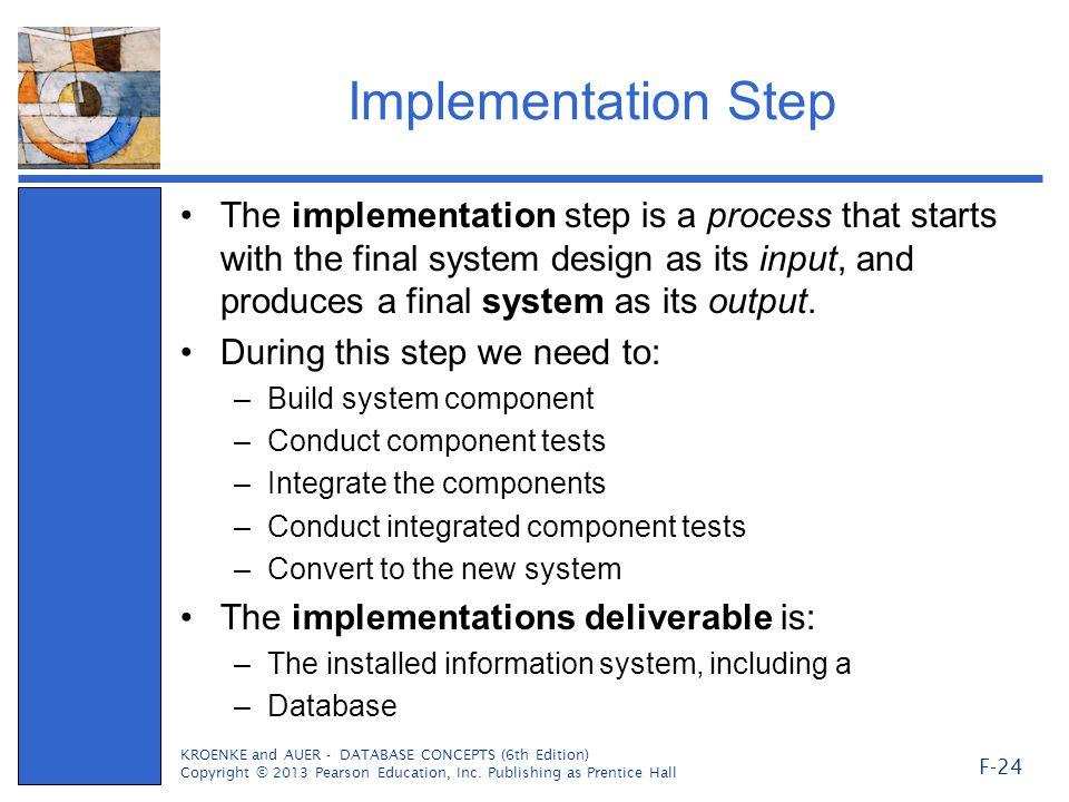 Implementation Step