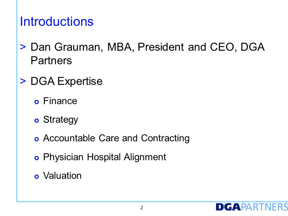 Where do ACOs Fit In Today's Competitive Market