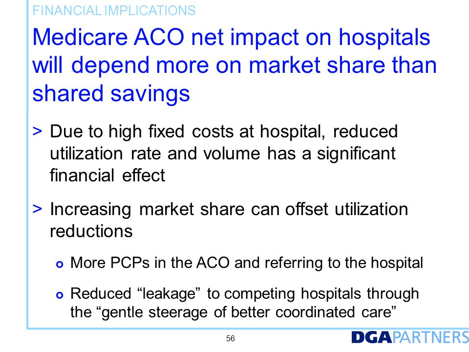 Medicare ACO strategy may tie to broader strategies