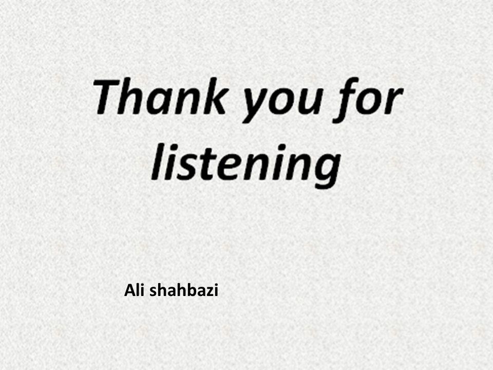 Ali shahbazi