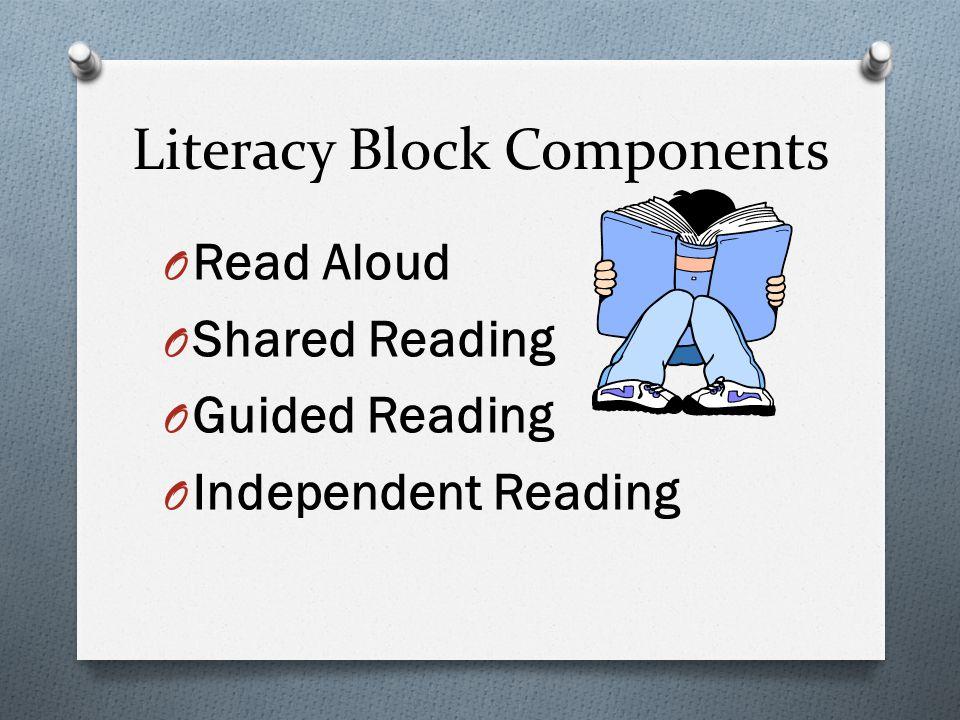 Literacy Block Components