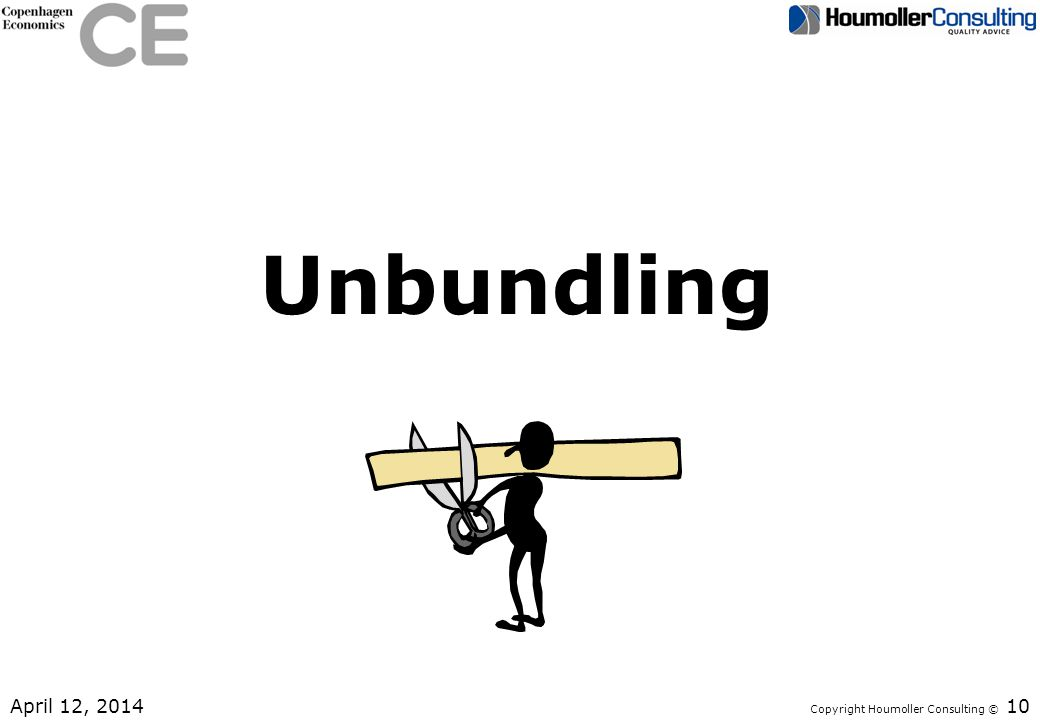 Unbundling April 12, 2014