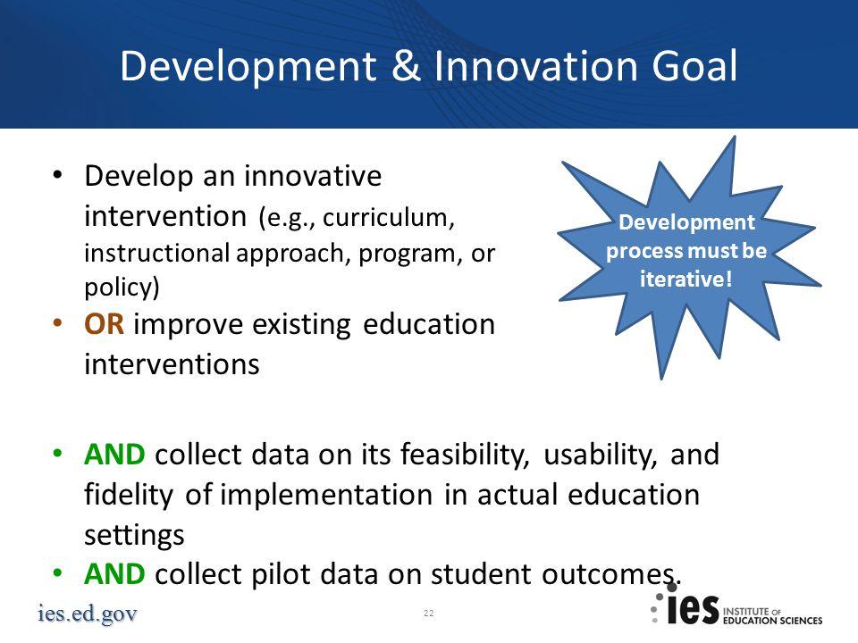 Development & Innovation Goal