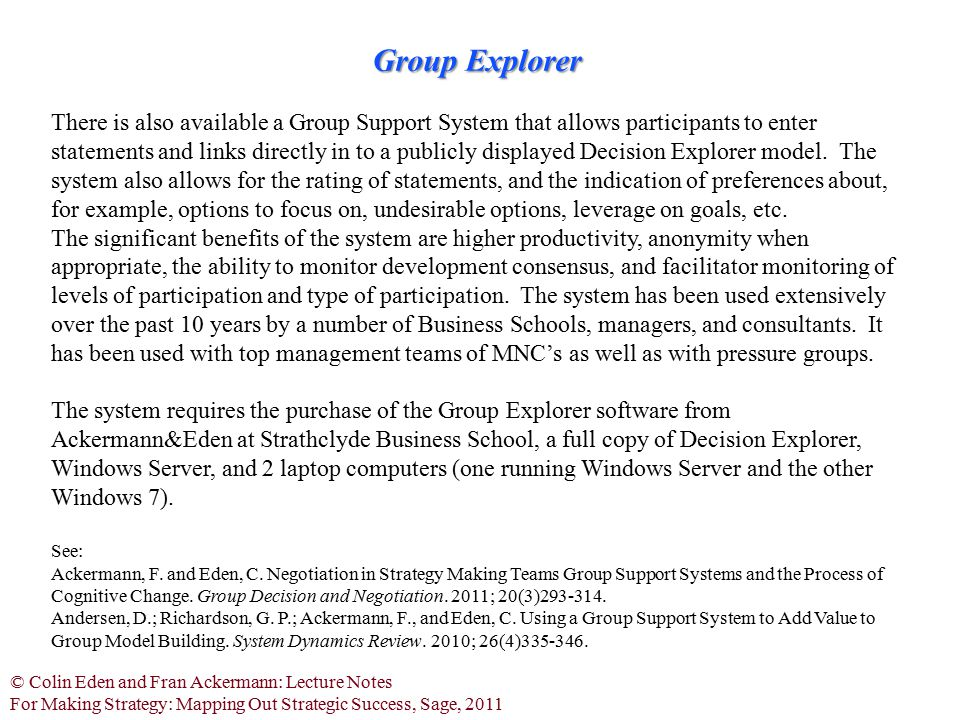Group Explorer