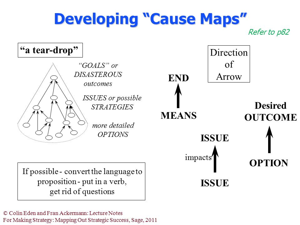 Developing Cause Maps