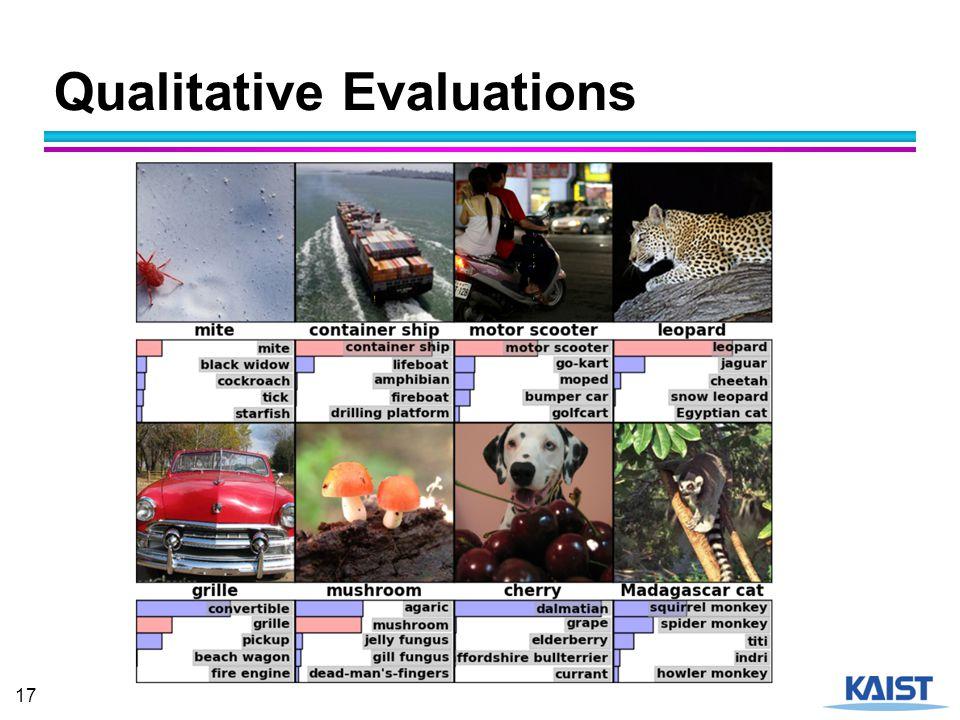 Qualitative Evaluations