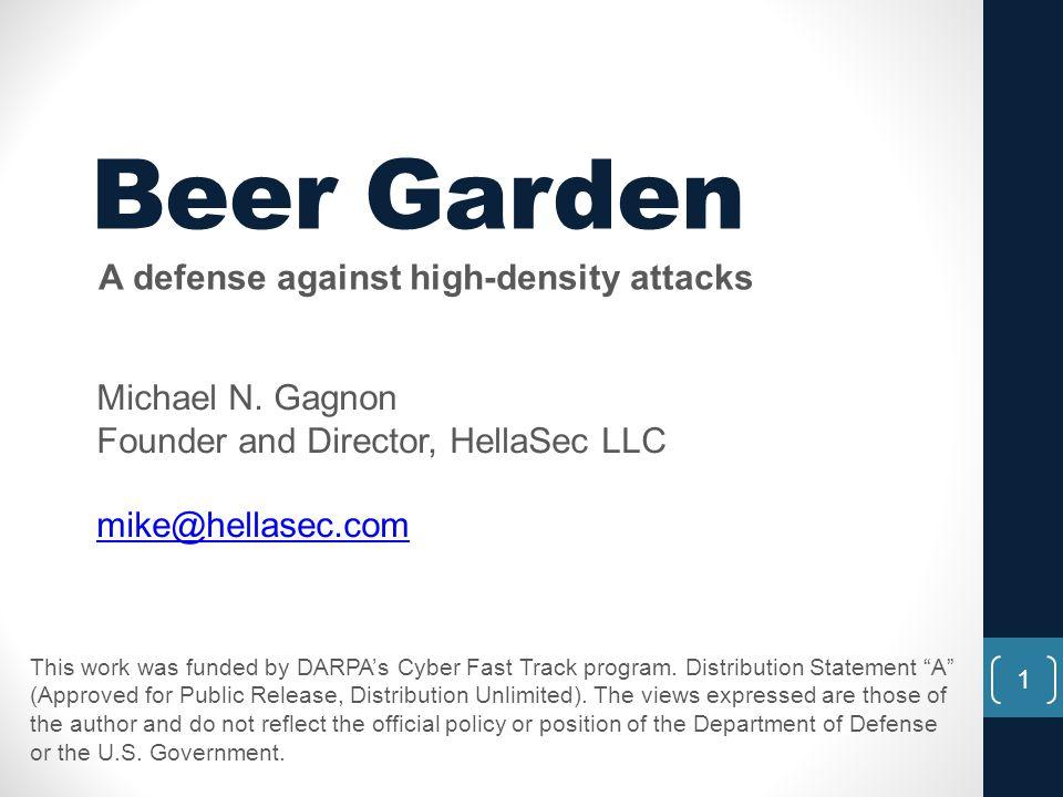 A defense against high-density attacks