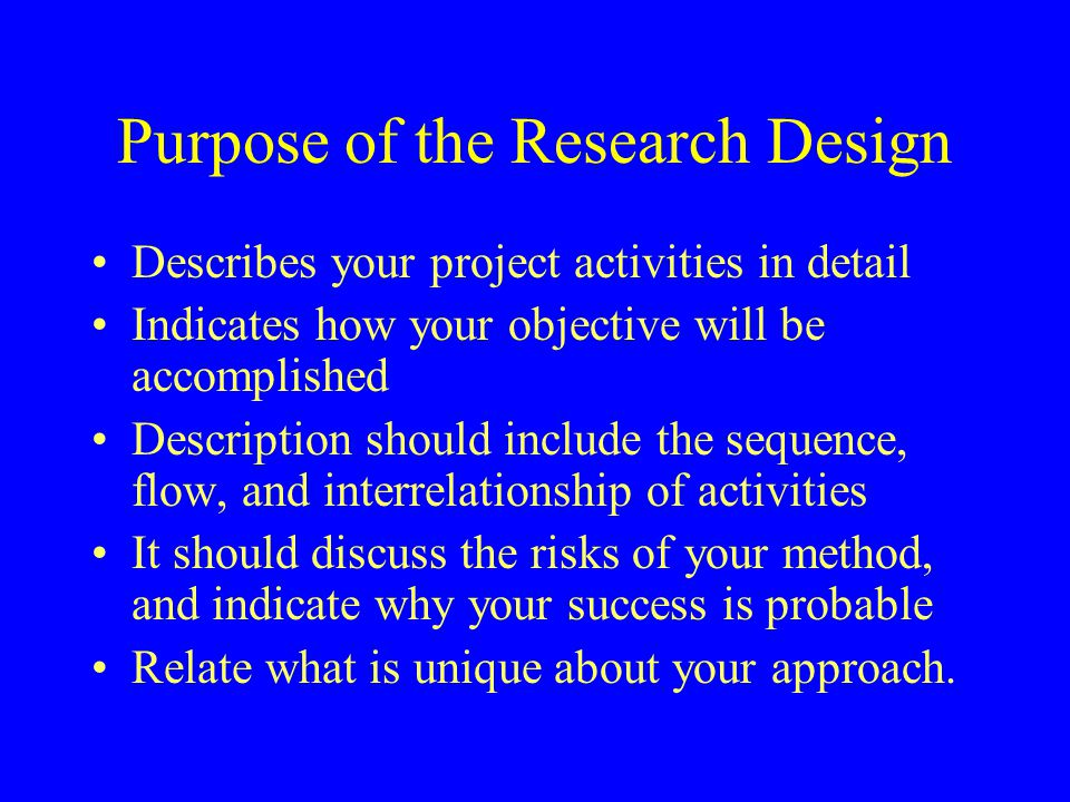 Purpose Of Writing A Research Paper