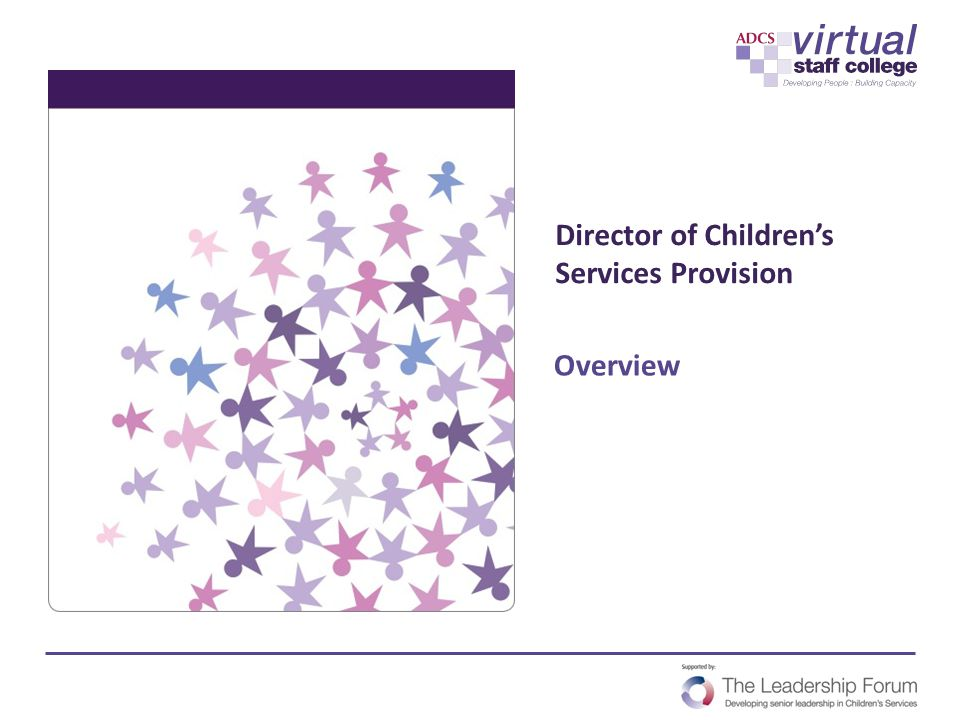 Director of Children's Services Provision
