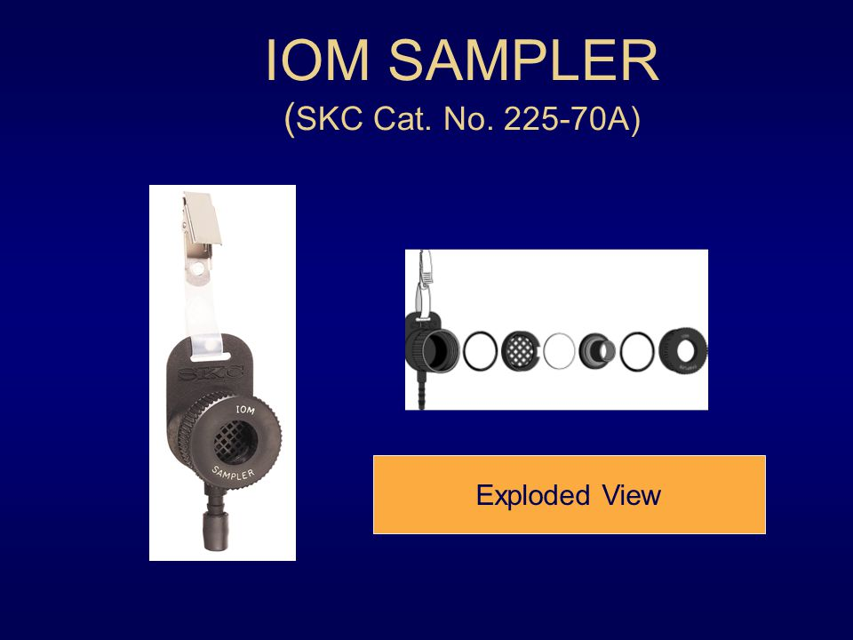 IOM SAMPLER (SKC Cat. No. 225-70A)