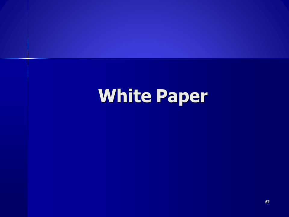 White Paper Macera