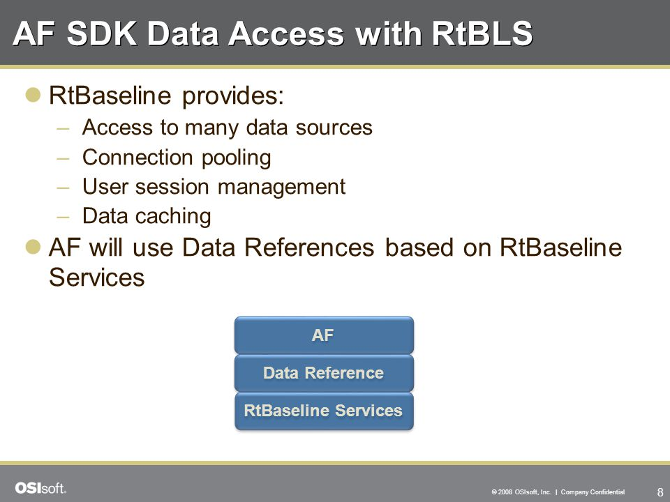 AF SDK Data Access with RtBLS