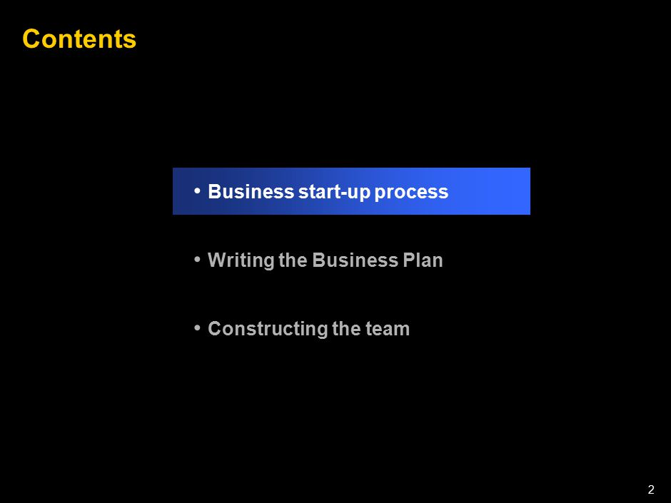 Stages of a Start-up Stage 1 Stage 2 Stage 3 Established company