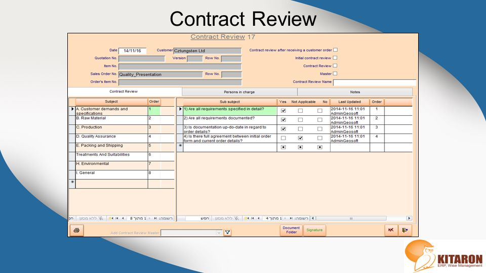 Contract Review