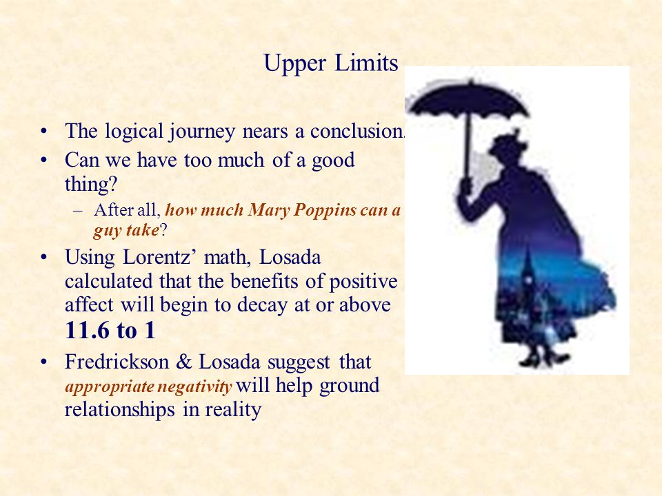 Upper Limits The logical journey nears a conclusion.