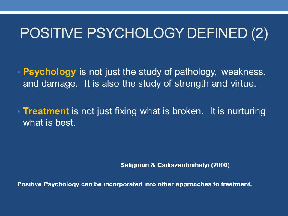 Psychology is best defined as the study of