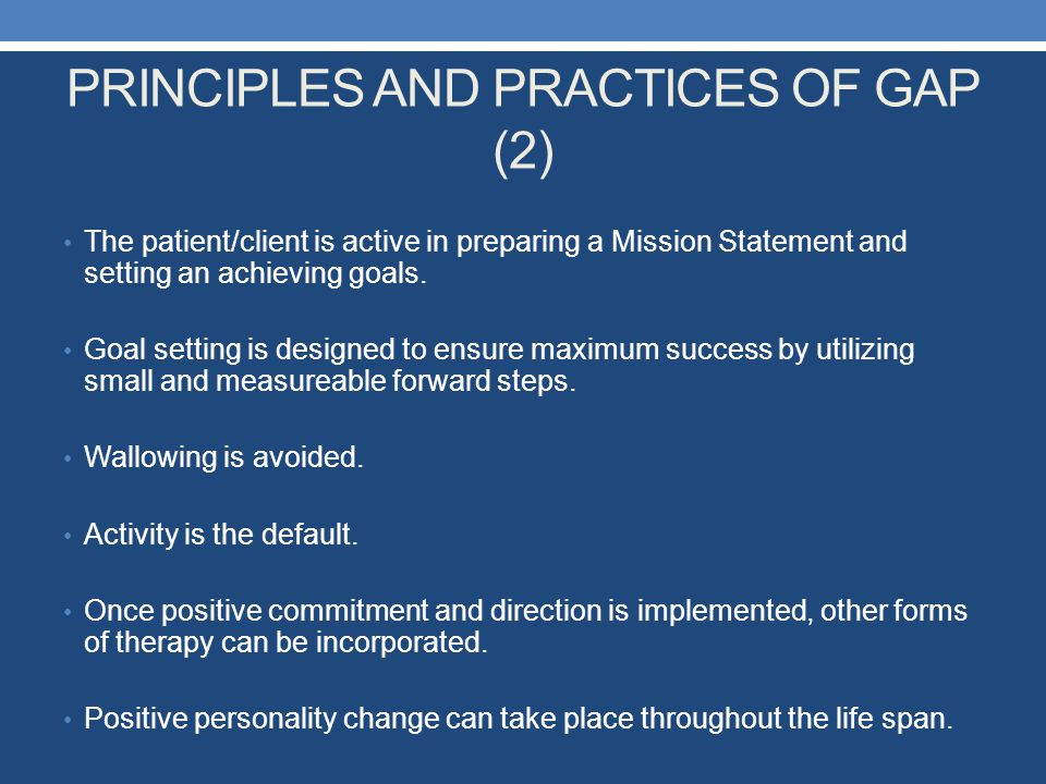 PRINCIPLES AND PRACTICES OF GAP (2)