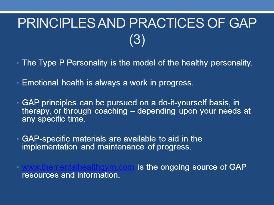 PRINCIPLES AND PRACTICES OF GAP (3)