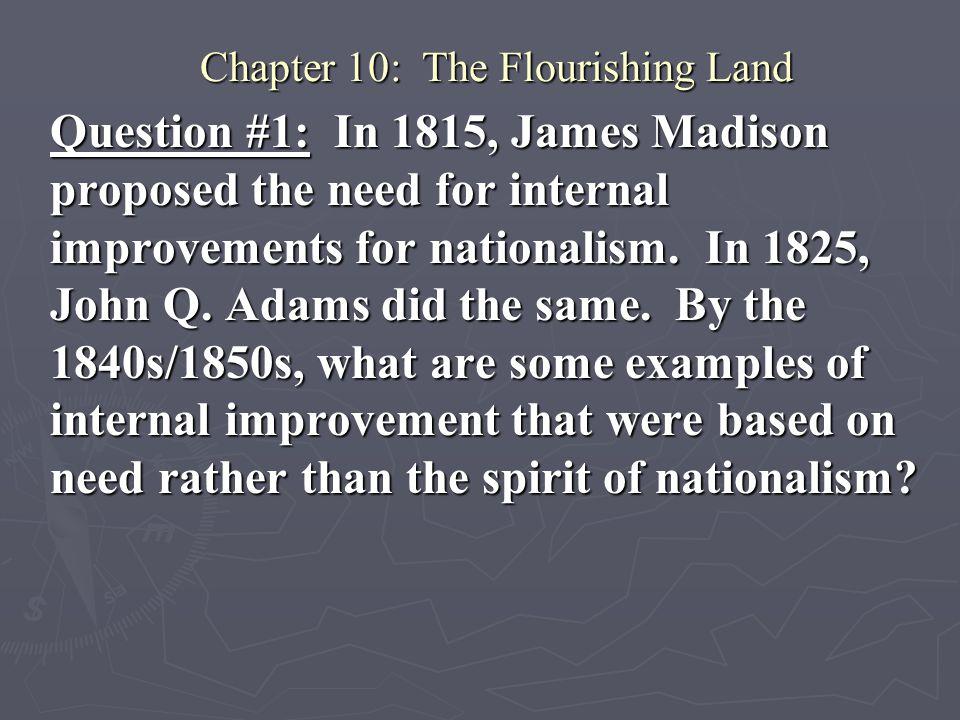 Chapter 10: The Flourishing Land