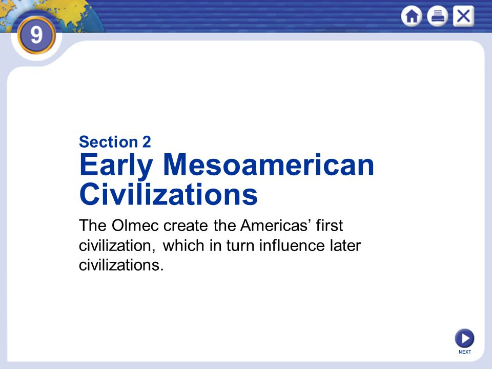 Early Mesoamerican Civilizations