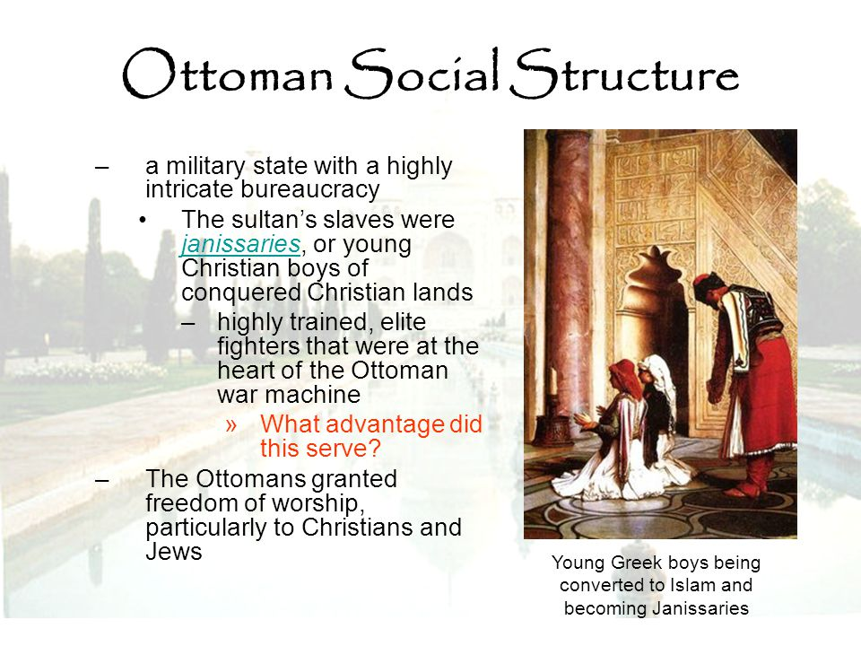 Ottoman Social Structure