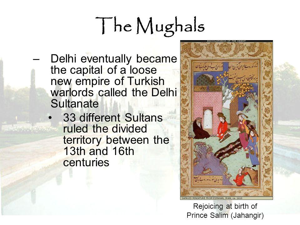 Rejoicing at birth of Prince Salim (Jahangir)