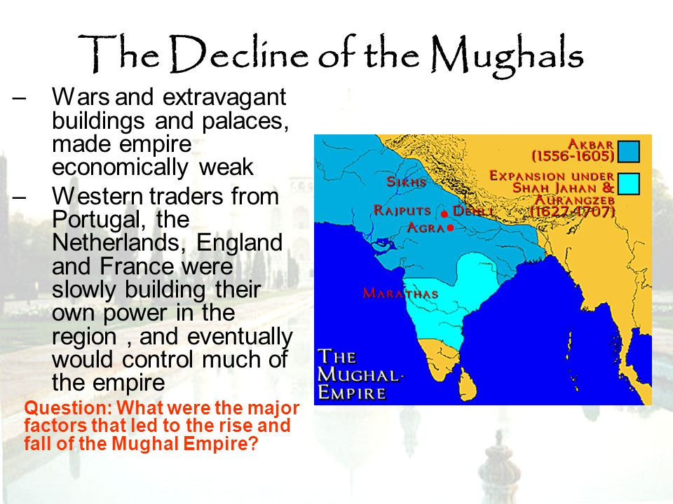 The Decline of the Mughals