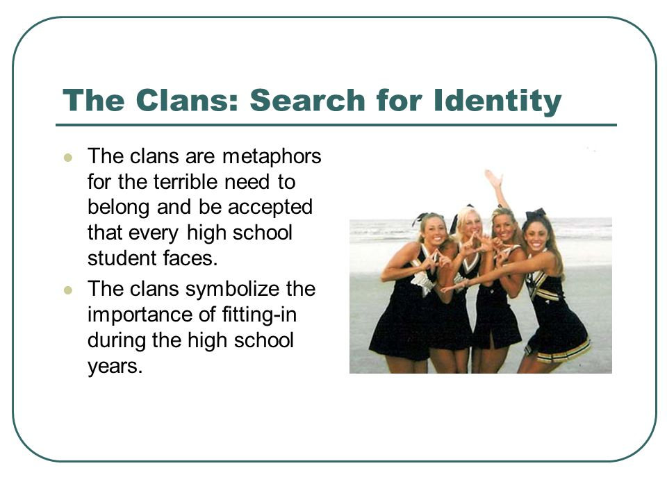 The Clans: Search for Identity