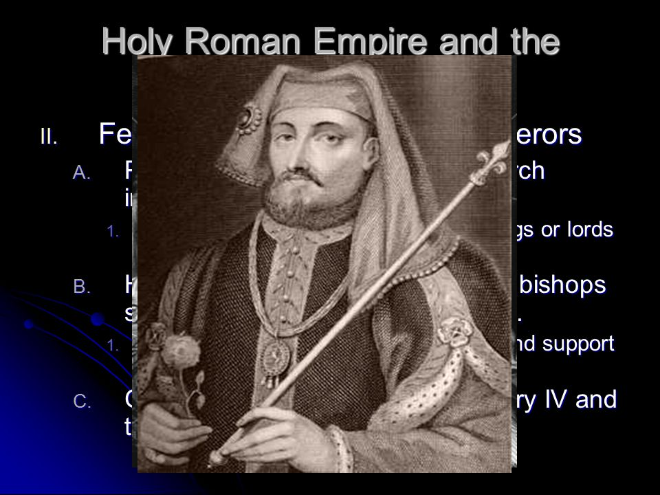 Holy Roman Empire and the Church