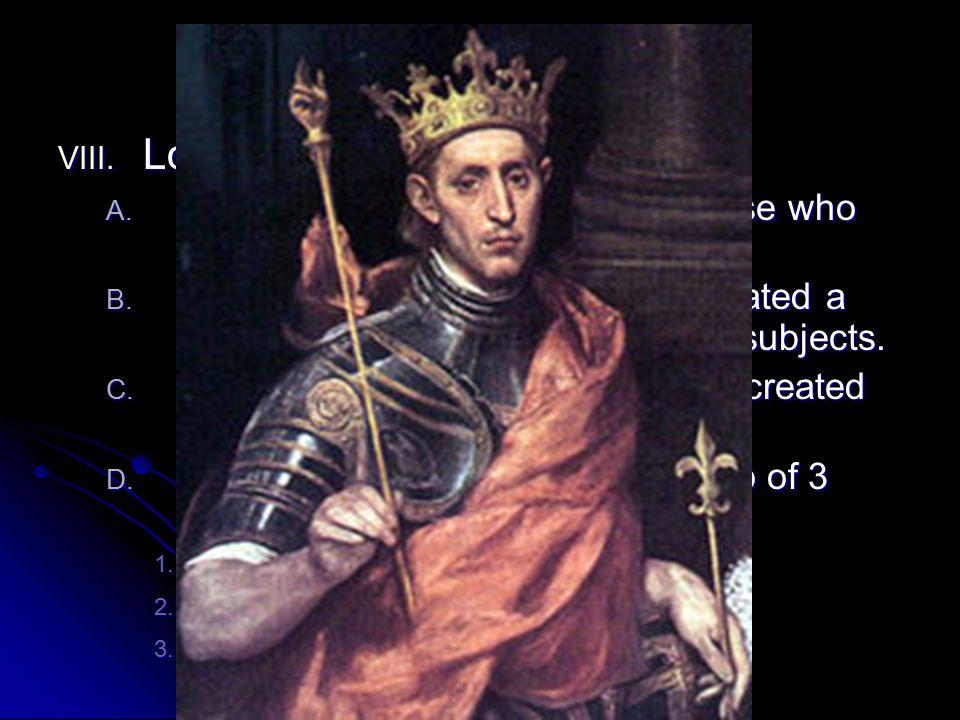 Royal Power Grows Louis IX