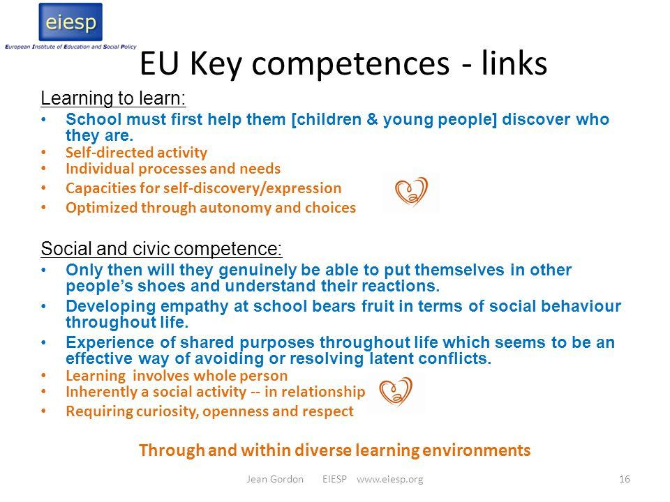 EU Key competences - links