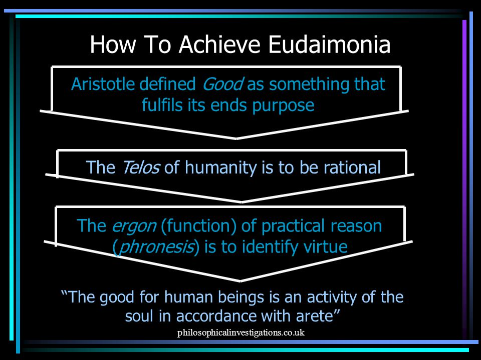 How To Achieve Eudaimonia