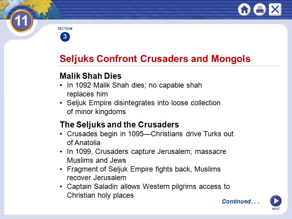 Seljuks Confront Crusaders and Mongols