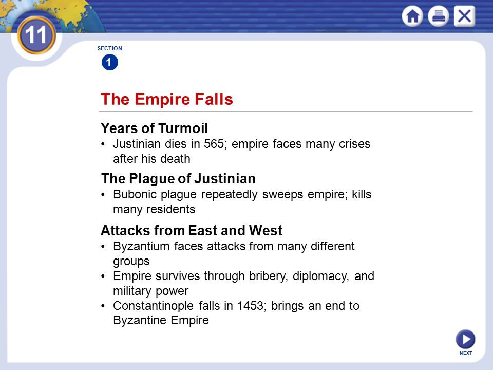 The Empire Falls Years of Turmoil The Plague of Justinian