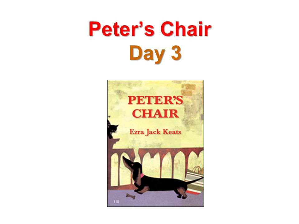 Peter's Chair Day 3