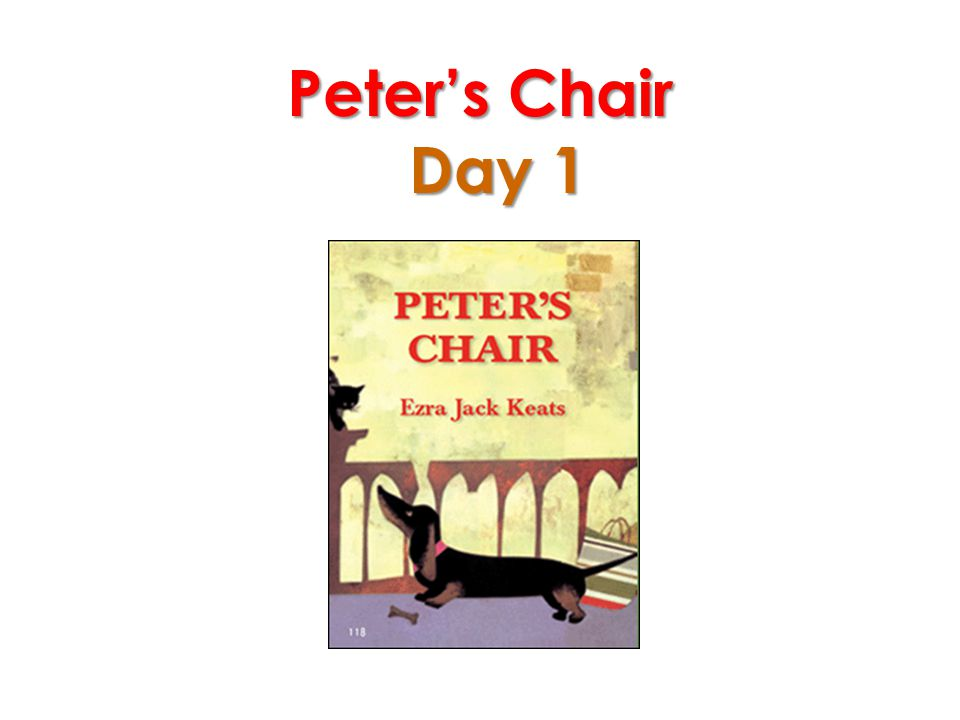 Peter's Chair Day 1