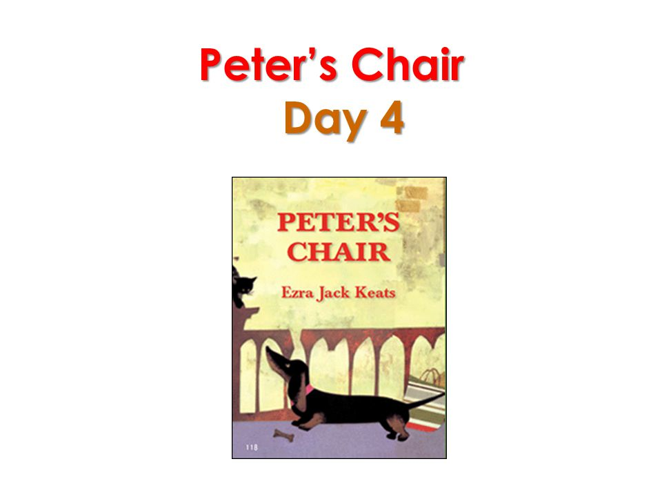 Peter's Chair Day 4
