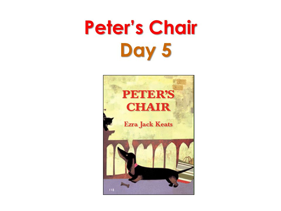 Peter's Chair Day 5