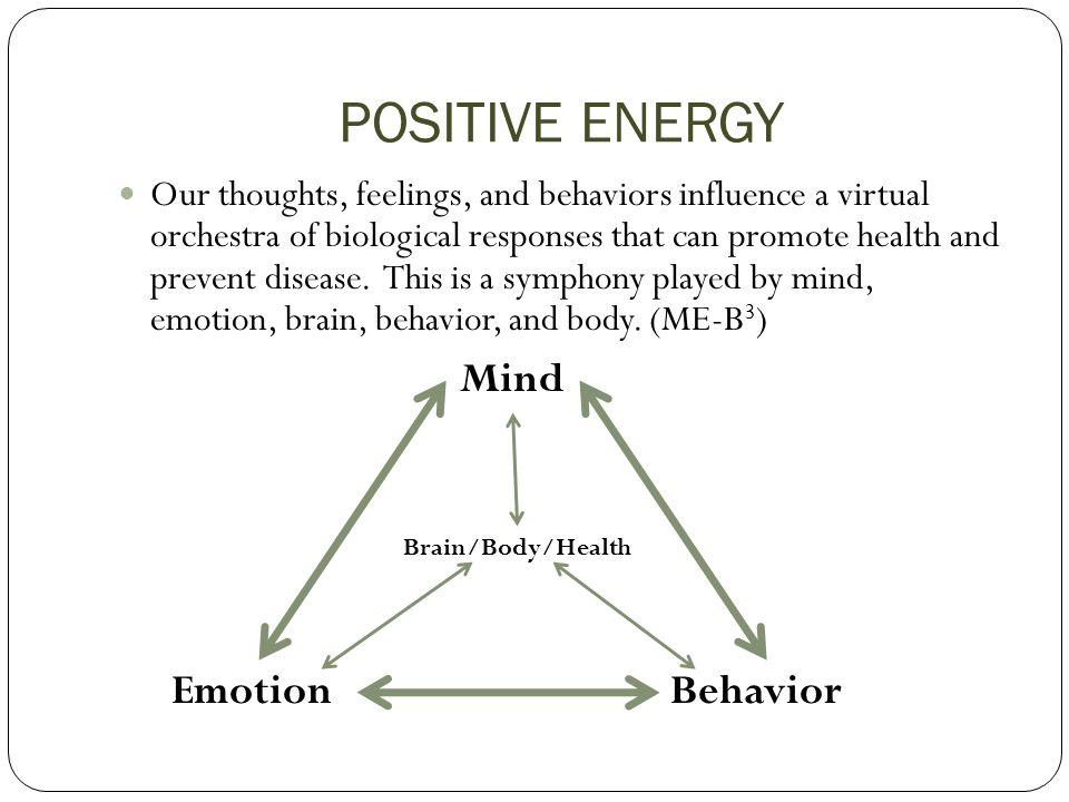 POSITIVE ENERGY Mind Emotion Behavior