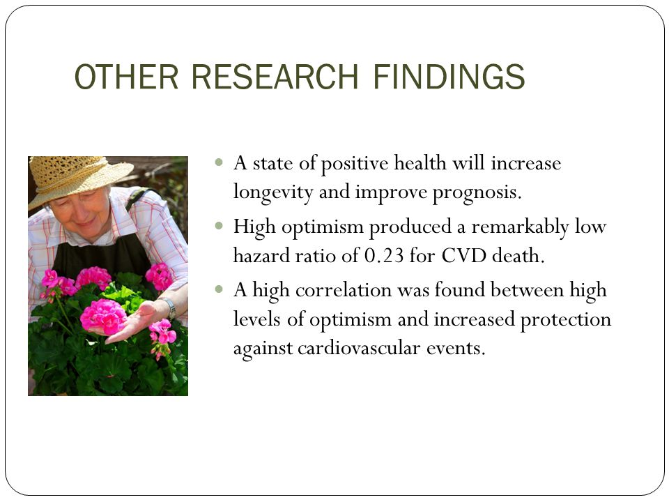 OTHER RESEARCH FINDINGS