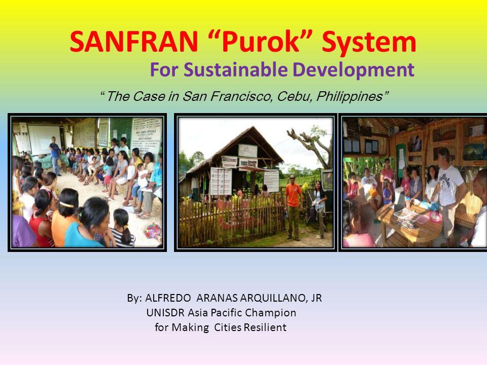 SANFRAN Purok System