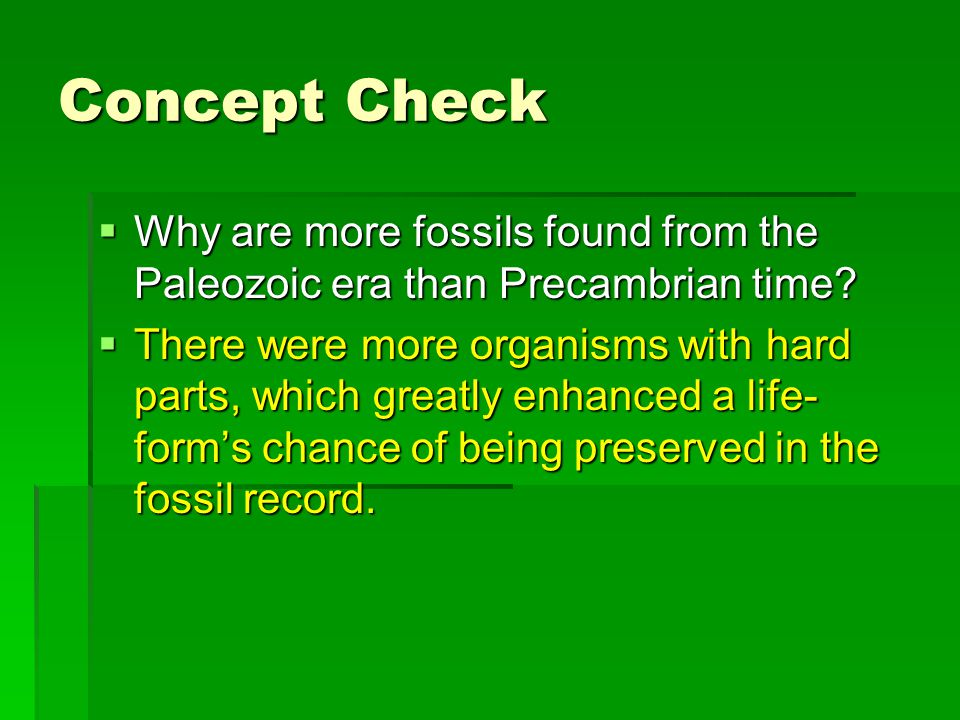 Warm Up 1/15/08 The most common Precambrian fossils are layered ...