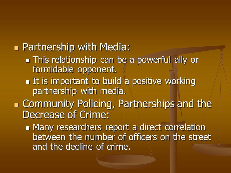 Partnership with Media: