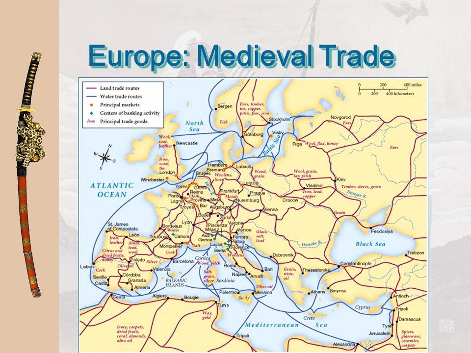 Europe: Medieval Trade