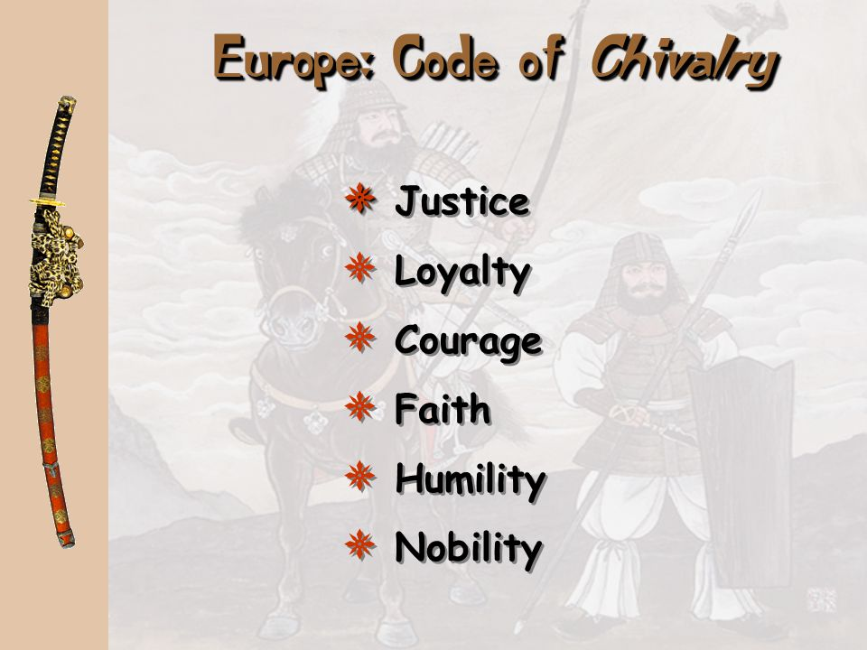 Europe: Code of Chivalry