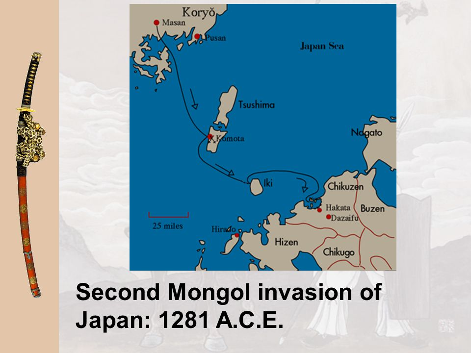 Second Mongol invasion of Japan: 1281 A.C.E.